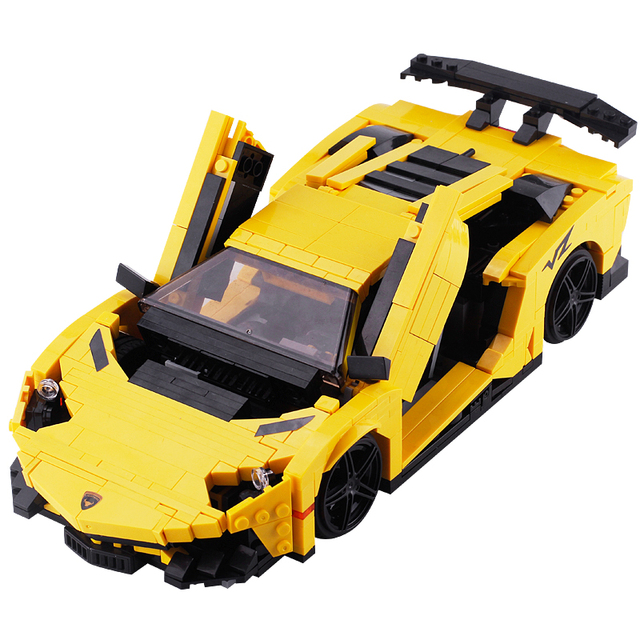 Lamborghini Car Model Toys Xingbao Compatible With Legoing Micro