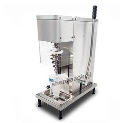 Ze stali nierdzewnej instrukcja do lodów mrożony jogurt świeże lody owocowe maszyna do mieszania handlowa pionowe maszyny do mieszania