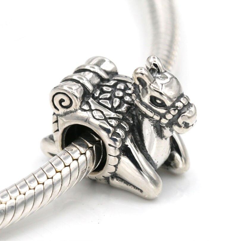 925 Sterling Zilver Originele nieuwe Camel Charm Kralen Past Europese Bedels Armbanden DIY Sieraden-in Amulet van Sieraden & accessoires op  Groep 1