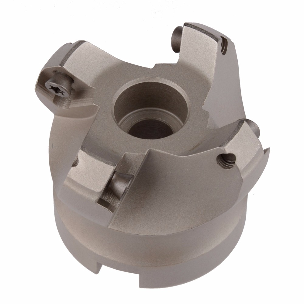 KM12 50-22-4T, 45 Degree Shoulder Mill Cutter Head for SEHT1204 carbide insert ,the milling diameter is 50mm use four insert