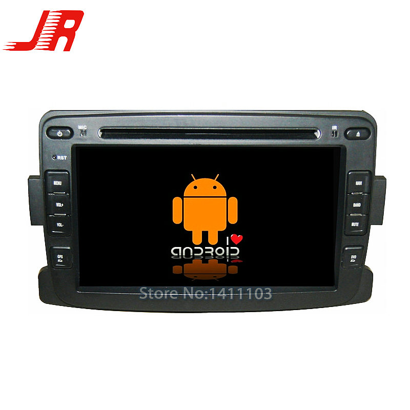 Quad Core Android 4 4 Car DVD GPS player FOR RENAULT Duster Logan Quad Core A9