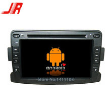 Quad Core Android 4.4 игрок Автомобиля DVD GPS ДЛЯ RENAULT Duster/Logan Quad Core A9 1.6 ГГц автозвук мультимедиа автомобиля стерео