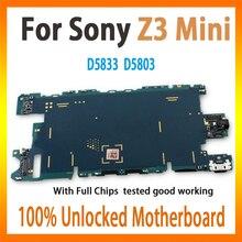 32 Гб для sony Xperia Z3 MINI D5833 D5803 полностью разблокированная материнская плата с системой Android оригинальная материнская плата