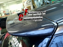 FOR Carbon Fiber 02-07 Impreza Wagon GG WRX STI Rear Wing Hatch Roof Spoiler цена 2017