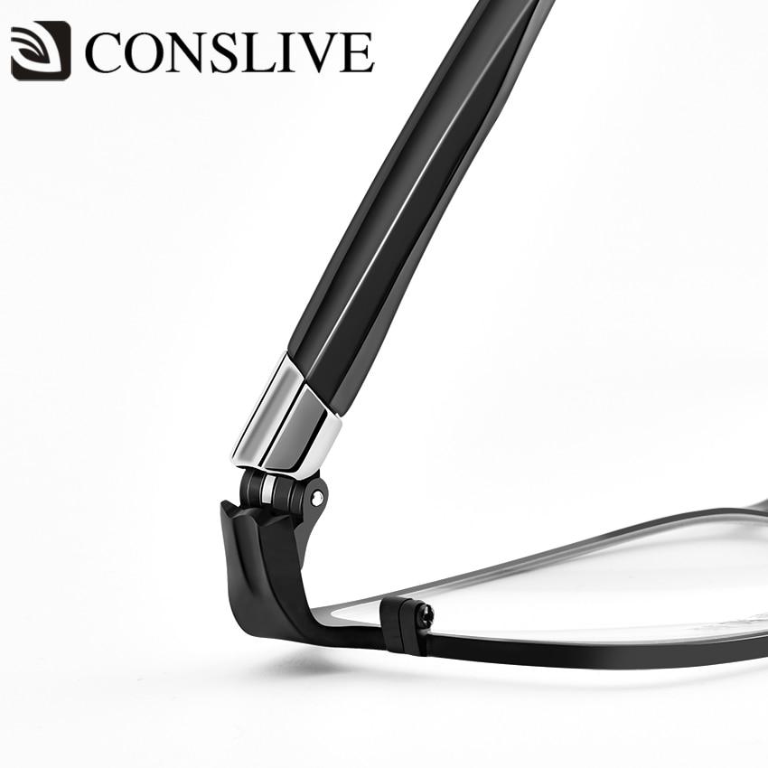 Lunettes de vue optiques en titane pour hommes avec diopters myopie lunettes multifocales progressives HT0088 - 6