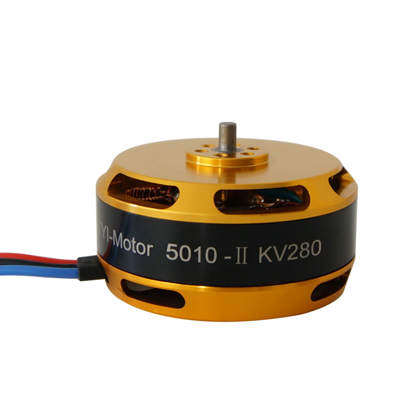 1PC <font><b>5010</b></font> KV340 <font><b>Brushless</b></font> Motor Solid Wire Motors for 1755 1855 Carbon Fiber Propeller 40-50A ESC RC Agriculture Drone Parts image