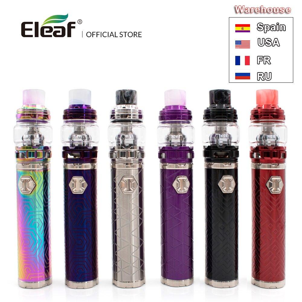 Ru/USA entrepôt d'origine Eleaf iJust 3 avec ELLO Duro intégré 3000 mAh 6.5 ml/2.0 ml réservoir I juste 3 en HW-M/HW-N Kit de Vape e-cig