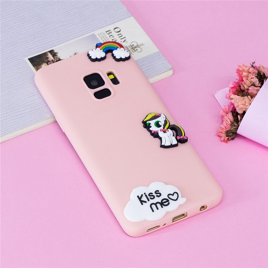 ⃝Phone Cases sFor Coque Samsung Galaxy S9 Case Soft Silicone