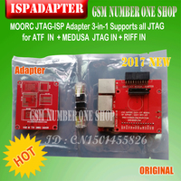 FREE SHIPPING JTAG ISP 5 IN 1 With RIFF BOX And EASY JTAG BOX Z3X PRO