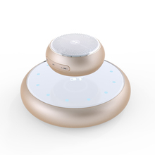 M6 Magnet Floating Bluetooth Speaker Mini Transportable Speaker Subwoofer Sound with Mic Assist TF Card for iPhone For Xiaomi