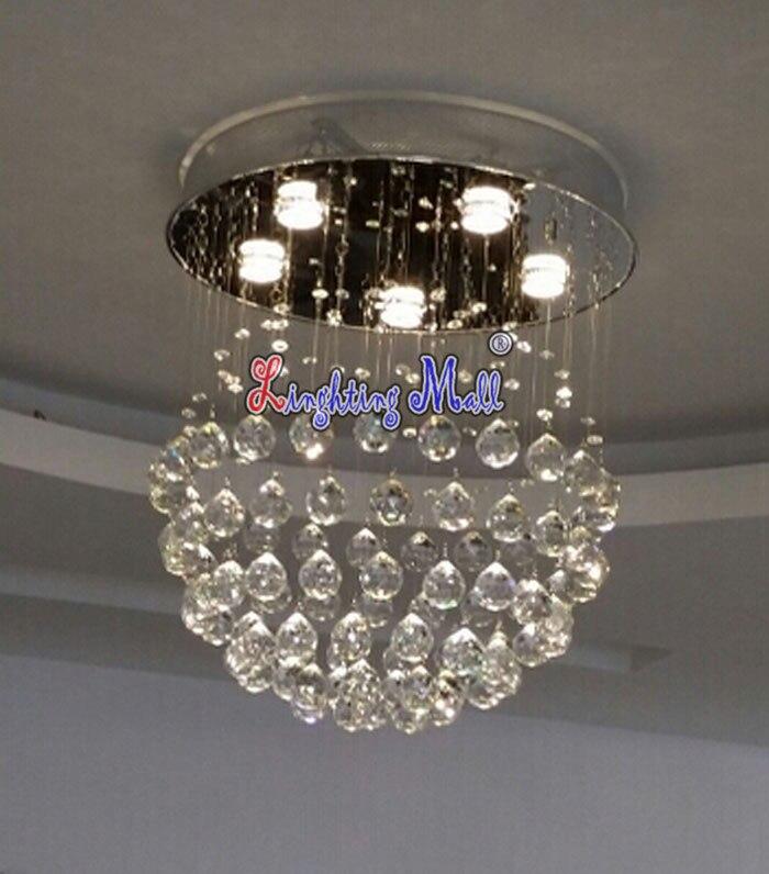 Aliexpress Buy D50cmxH55cm 5 lights Modern LED Crystal – Raindrop Chandelier Crystals