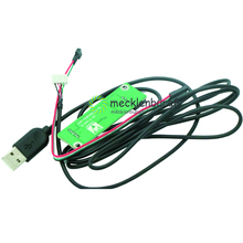 4 ลวด Resistive USB Touchscreen Controller LCD หน้าจอสัมผัส Driver Card L