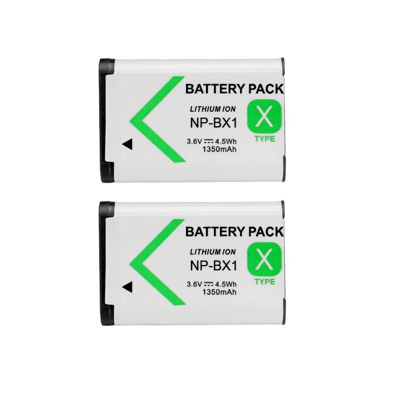 2 шт./лот NP BX1 NP-BX1 Батарея для SONY DSC RX1 RX100 rx100iii M3 m2 RX1R wx300 hx300 hx400 HX50 hx60 gwp88 pj240e HDR-AS15 AS10