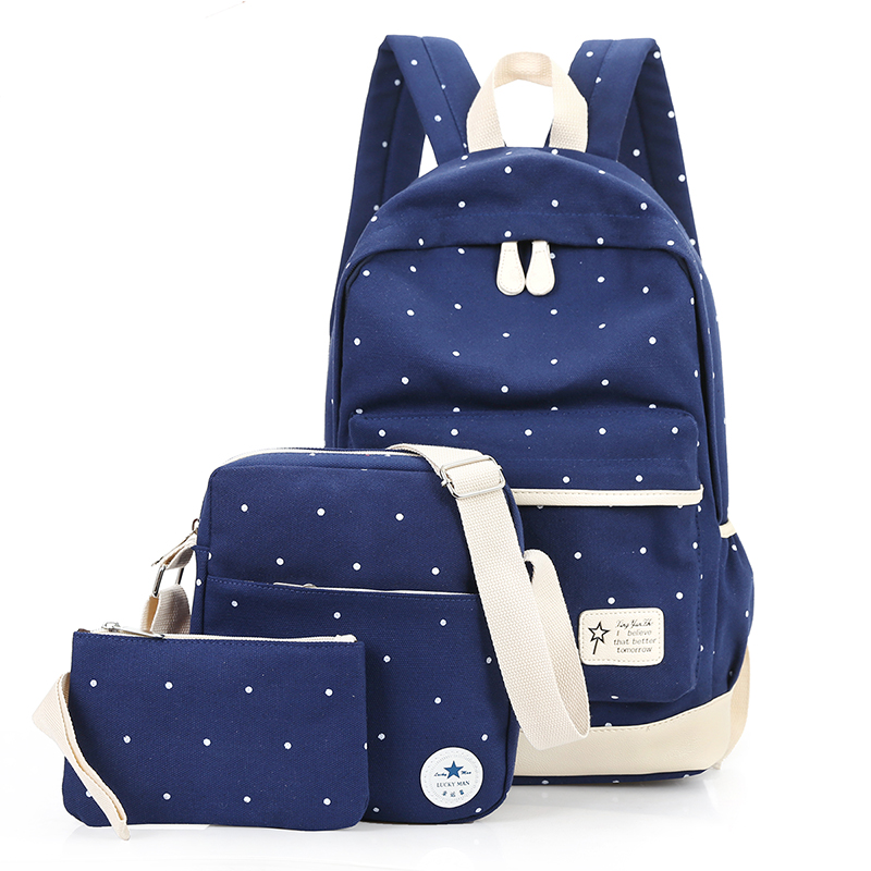 New School Bags Travel Students Bags Canvas Backpack Women Shoulder Bags Campus Bag Jacquard Preppy Style Softback primary school students school bag 3 6 candy color preppy style backpack