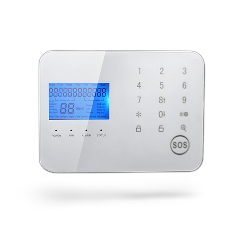 Wireless PSTN/ GSM Dual Network Intelligent Anti-Theft Alarm Home Security Alarm System Alertor Remote Control Monitor lcd screen 433mhz remote control wireless gsm sms call pstn phone line dual network home security gsm alarm system