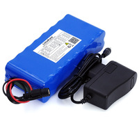 LiitoKala 14.8V 10Ah 18650 li lithium ion battery Pack night fishing lamp miner's heater battery amplifier with BMS+16.8V Charge