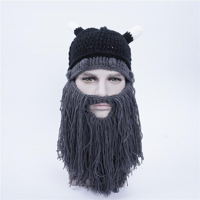 Novela Divertida personalidad Otoño invierno tejer barba Grande ...