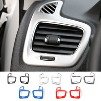NEW Interior Accessories ABS Car Dashboard Left And Right Side Air Conditioner Vent Trim Frame Sticker