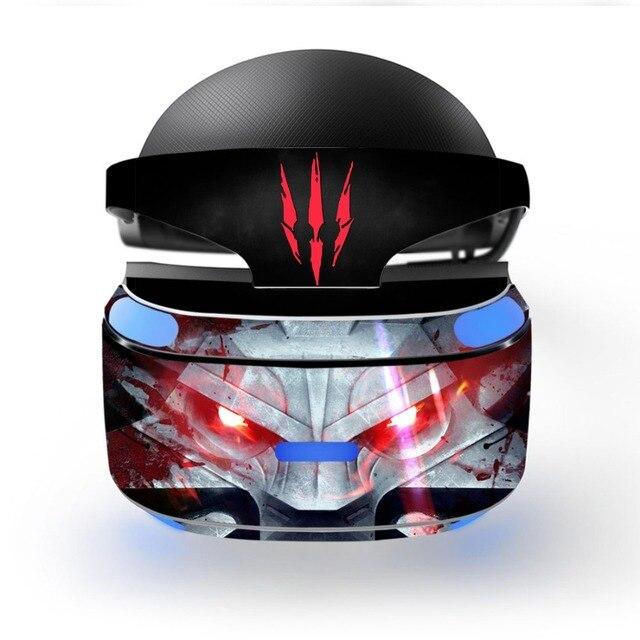נשלף ויניל מדבקות מדבקת עור כיסוי מגן עבור פלייסטיישן VR PS VR PSVR הגנת סרט מדבקת עור