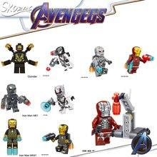Leg children's brick building blocks toys compatible le iron man angel death war machine soldier ant captain model toys JM-59