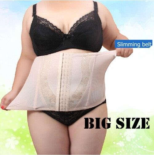 new women plus size waist cincher body shaper waist trainer