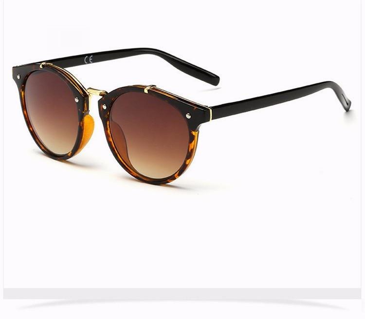 Fashion Vintage Round Sunglasses Women Men Brand Designer Retro Mirror Sunglass Ladies Female Male Sun Glasses For Women Glasses (23)