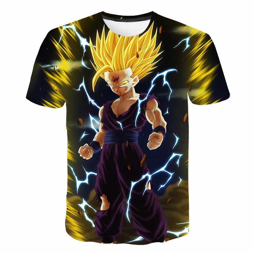 Новинка 2019 года, футболки с драконом и шариком Z для мужчин, Супер Saiyan Ultra Instinct, Детская футболка с принтом «Гоку Вегета», футболки с рисунком, большие размеры