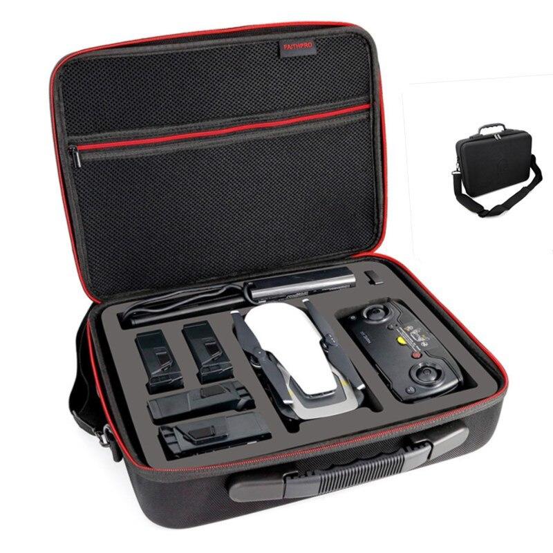 EVA Hardshell Handtasche Tragetasche Für DJI Mavic Drohnen und Zubehör (5 Batterien) Tragbare Spark Fall für DJI Drone Aufbewahrungsbeutel
