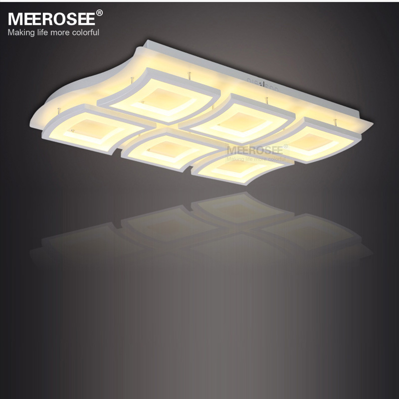 New Design Ceiling Lights : New design led ceiling light white acrylic lamp modern