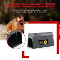 Professional Electrocute Electronic Rat Trap Mice Mouse Rodent Killer Electric Shock EU Plug Adapter High Voltage