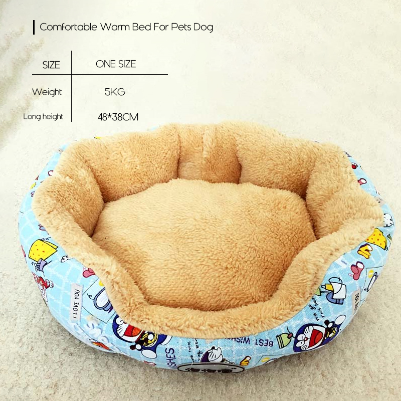 2019 New Comfortable Warm Bed For Pets Dog Puppy Soft Beds Mats For Small Pets Pet Products Supplies ATB 270 in Houses Kennels Pens from Home Garden