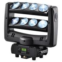 American DJ светодиодный паук перемещение головы луч света мытья 8x10 Вт RGBW 4in1 белый этап lighting100W многоцветные изменение DMX контроллер