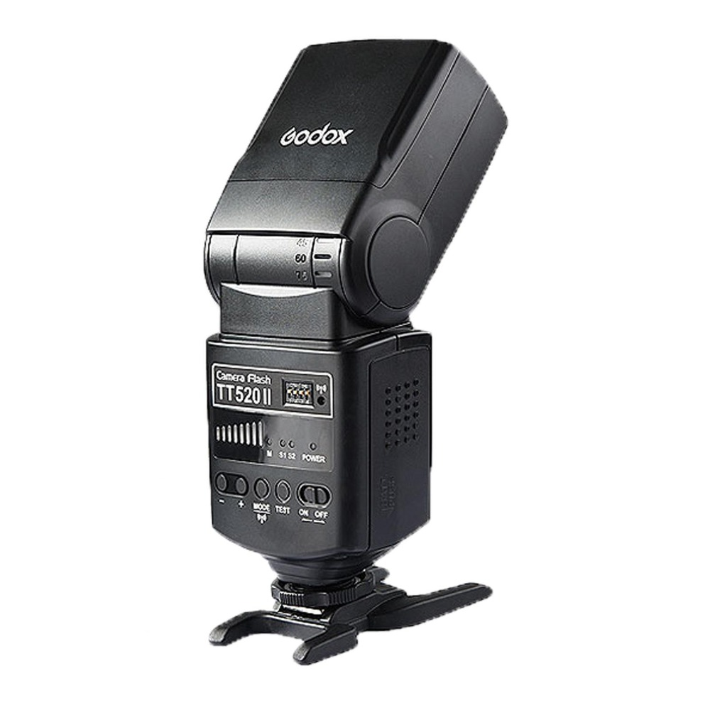 Godox TT520 II Вспышка TT520II со встроенным 433 МГц Беспроводной сигнала для Canon/Nikon/Pentax/Olympus цифровых зеркальных камер