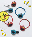 Harajuku pelo anillo Coreano hermana suave historieta Sesame Street Cookie Monster lindo pelo banda accesorios para el cabello pelo cuerda