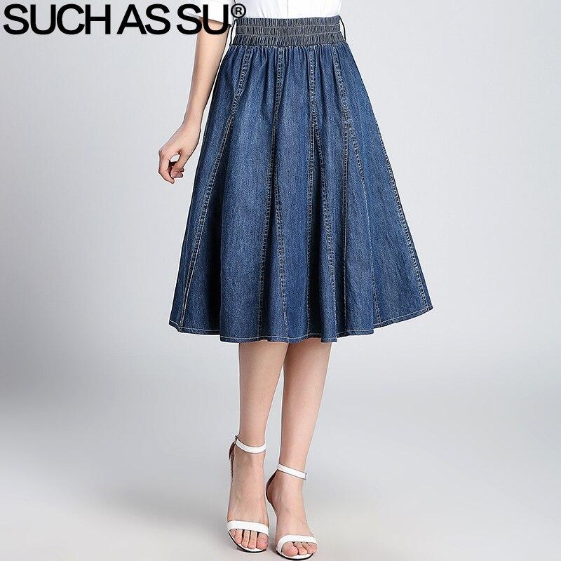 buy wholesale black denim skirts from china