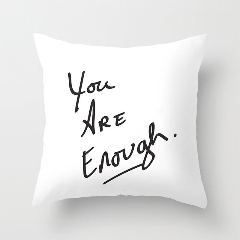 2018 New Linen Cotton Pillowcase Rumor Series Super Soft Short Plush Pillow Cover 45*45cm Without Pillow Inner Household 6C1343