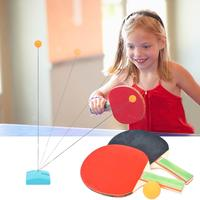 Table Tennis Robot Automatic Ping Pong Robot Training Machine with Different Spin Balls for Training Toy for Kids Children