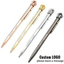 Cute Crown Metal Ballpoint Pens Customized Logo Gel Pen Creative Birthday Gifts Pen With Box School Office Writing Supplies цена в Москве и Питере