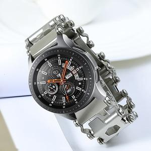 Image 2 - Samsung Galaxy Watch 46mm Gear S3 newest watch strap bracelet bracelet Watch band For Garmin Fenix 3 hr 5x screw driver tools
