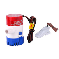 High Quality New DC12V 24V 350GPH Bilge Pump with Bilge Switch Submersible Boat Water Pump Set Electric Pump for Boats