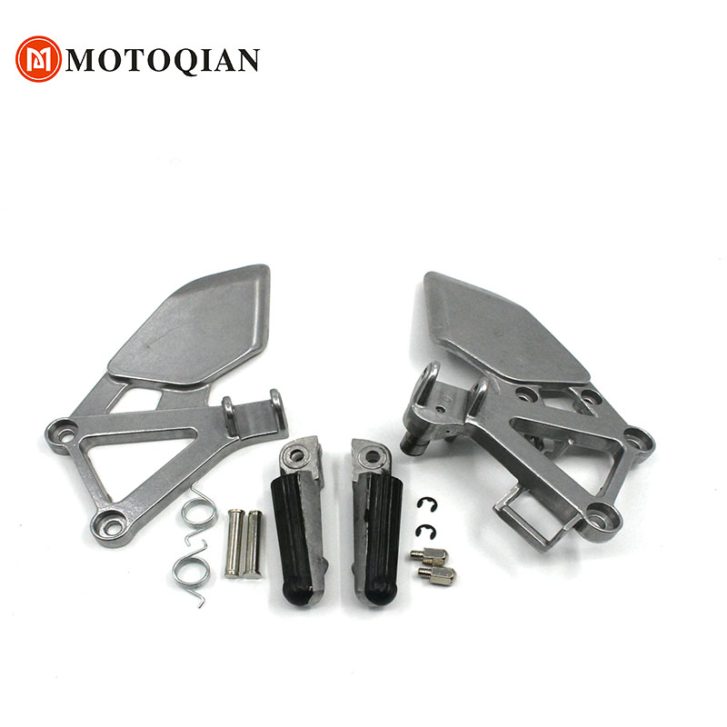Front Foot Pegs For Honda CBR250 MC19 CBR 250 MC 19 Motorcycle Accessoies pedal Foot Rests Footrest Footrest Pedals FootPegs bicycle pedal