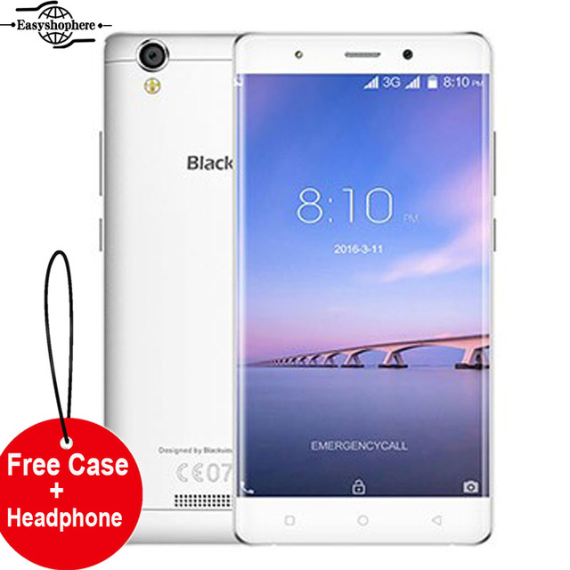 Free Case Blackview A8 Mobile Phone Smartphone 5.0 Inch Android 5.1 Quad Core 1GB RAM 8GB ROM 8MP IPS 3G WCDMA 1280x720 Celular