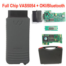 Auto Scanner Full Chip VAS5054A OKI Bluetooth Newest ODIS 5.13 Keygen vas 5054a support UDS Protocol VAS5054 Car Diagnostic Tool(China)