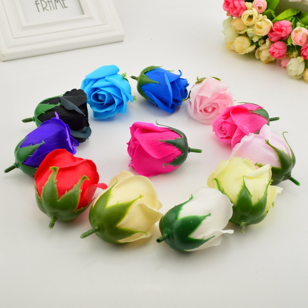 5pcs 5x6cm cheap soap rose head romantic wedding valentines day 5pcs 5x6cm cheap soap rose head romantic wedding valentines day gift decoration family banquet clip art artificial flowers in artificial dried flowers izmirmasajfo