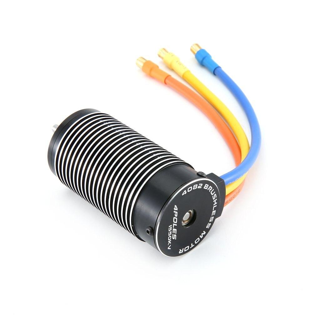 Rocket 4082 1550KV/1720KV Brushless Sensorless Motor 4 Pole Sensorless Motor For 1/8 RC Drift Racing Model Car Parts