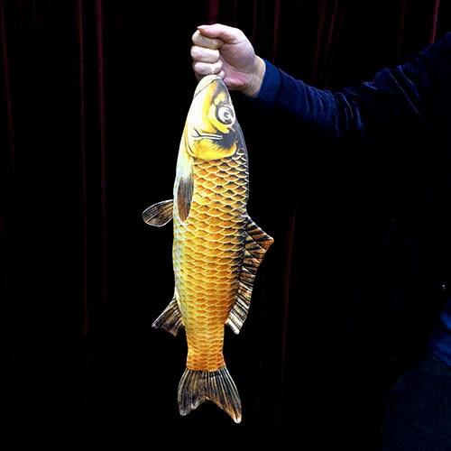 New Arrivals 2019 FISM Appearing Big Fish 54cm Magic Tricks For Magician Party Magic Show Gimmick