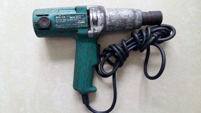 Second Hand Imported Hitachi Electric Impact Wrench 100v 360w Automotive Tools Wh12y