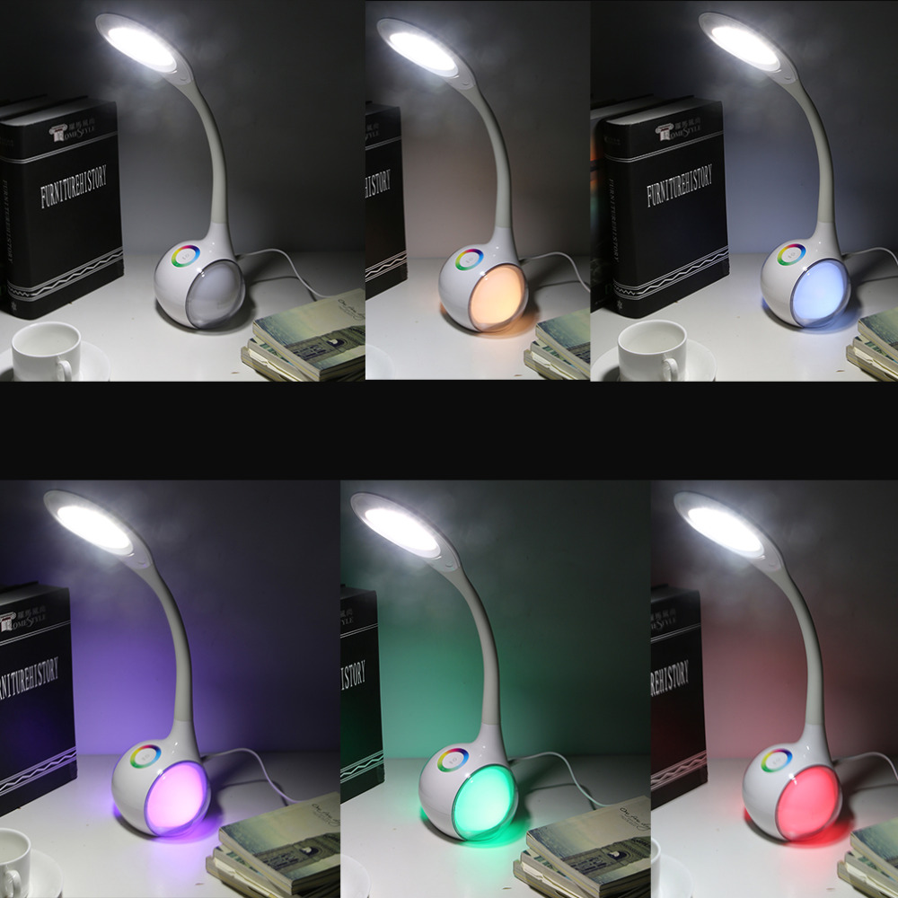 ФОТО High Quality FXT3 Led Reading Eye Protecting Student Desk Lamp Table Lamp For Computer Home Study Reading Brightness Day White
