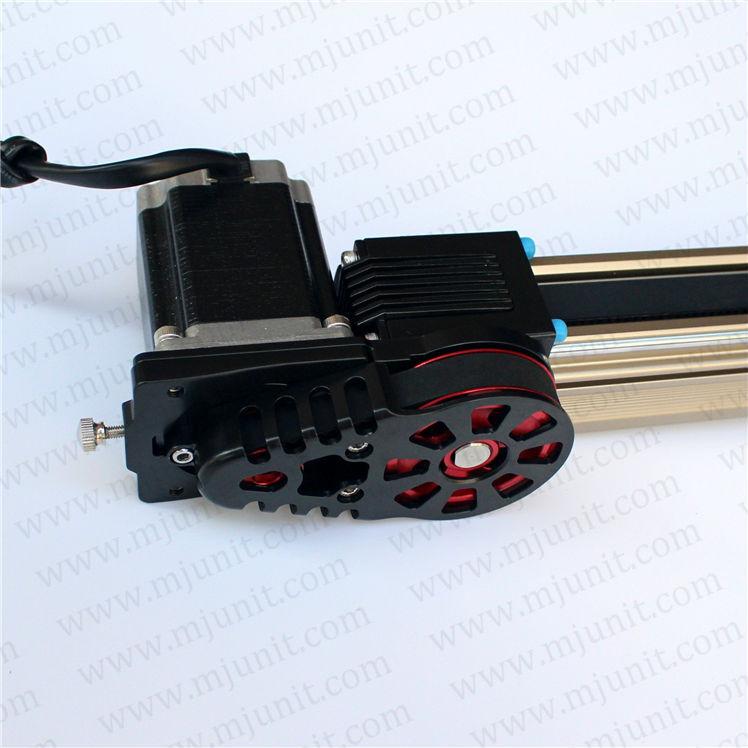 Timelampse linear way roller guide linear rail actuator motion Linear Motion  module professional manufacturer linear rail guideway double actuator mini way belt drive actuator for laser machine