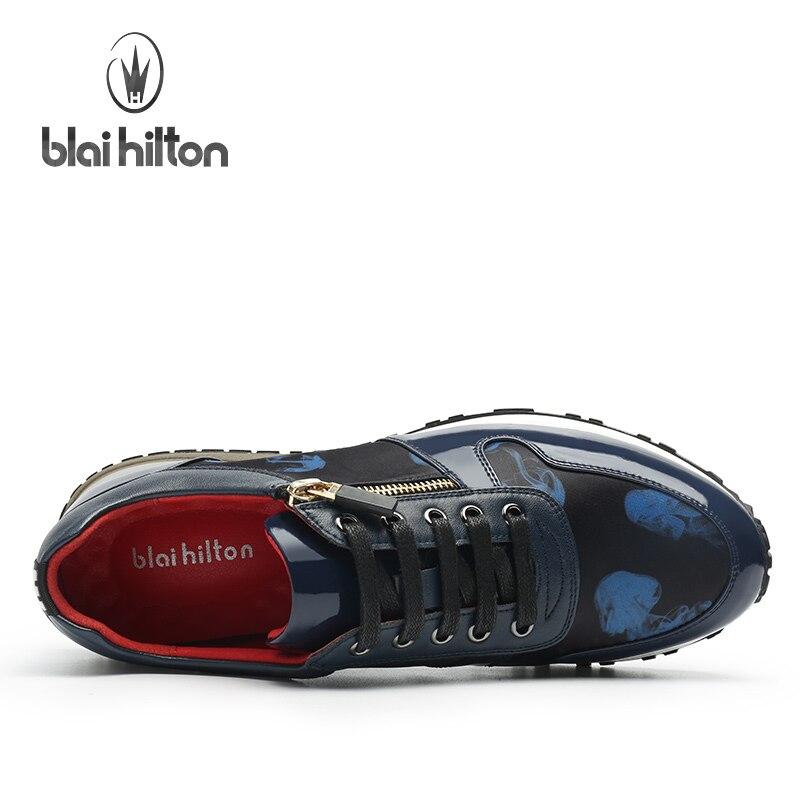 Zip Bleu Chaussures Hommes rouge Noir Mode Blaibilton New Côté Designer Haute Sd6125 Pu 2017 Wedge Qualité Casual Bleu Mens Personnalité IqtpapPwW